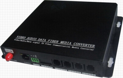 Telephone Over Fiber Optic Multiplexer(Converter)